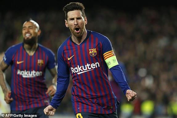Messi ghi dấu trong 4 bàn thắng, Barca vào tứ kết thuyết phục-2
