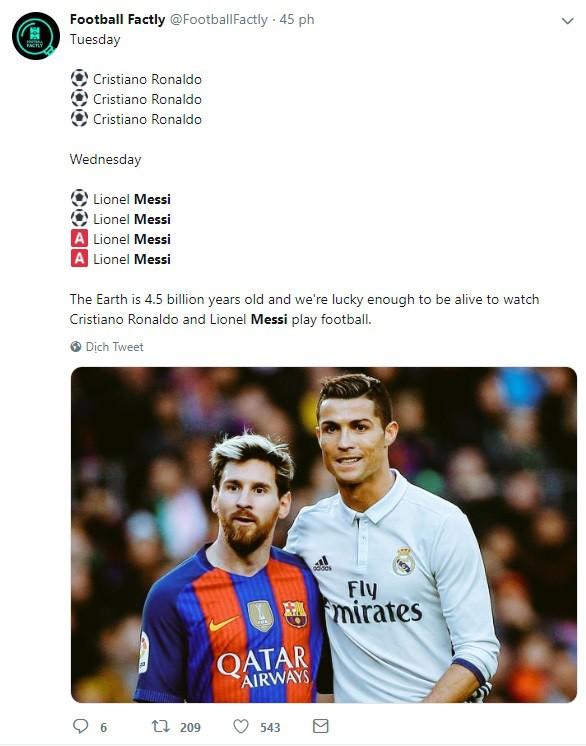 Dân mạng kêu gào sau màn trình diễn thần thánh của Messi: Anh và Ronaldo xin đừng bắt chúng tôi phải so sánh ai giỏi hơn nữa!-4