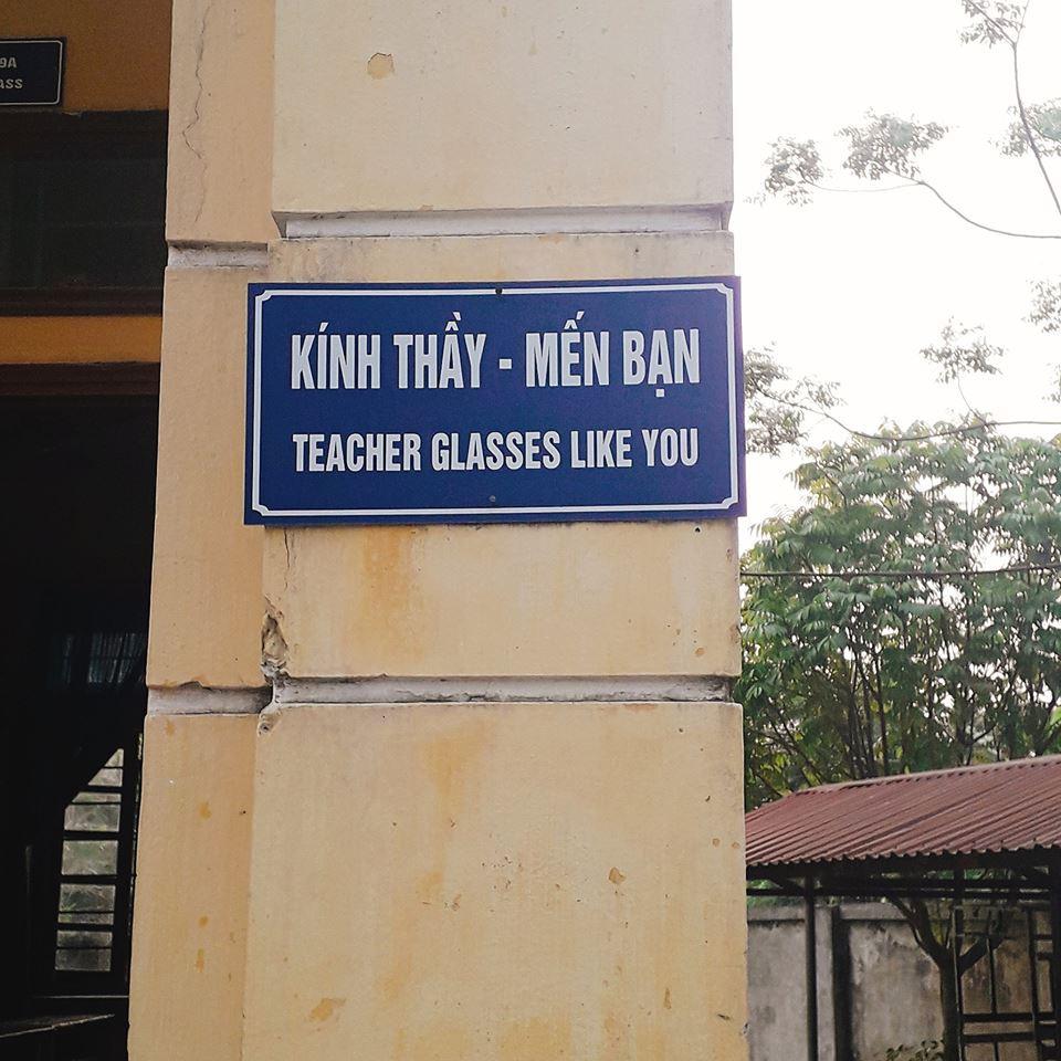 Tranh cãi khẩu hiệu Tiếng Anh được dịch bằng Google, sai bét nhè tại một trường học-1