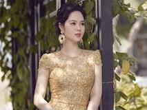 Hoa hậu Việt Nam 2002 Mai Phương diện váy đơn sắc khoe dáng