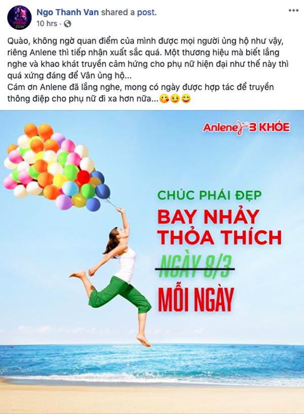 Sao Việt đồng loạt ủng hộ tuyên ngôn 'Phụ nữ có quyền bay nhảy'-5