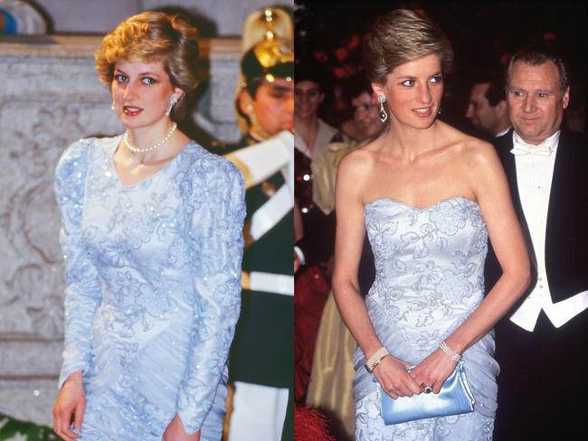 """Kate Middleton đã đạt đỉnh cao tiết kiệm trang phục giống Công nương Diana, khiến dân tình phục lăn"""" vì chế lại váy quá sức tài tình-1"""