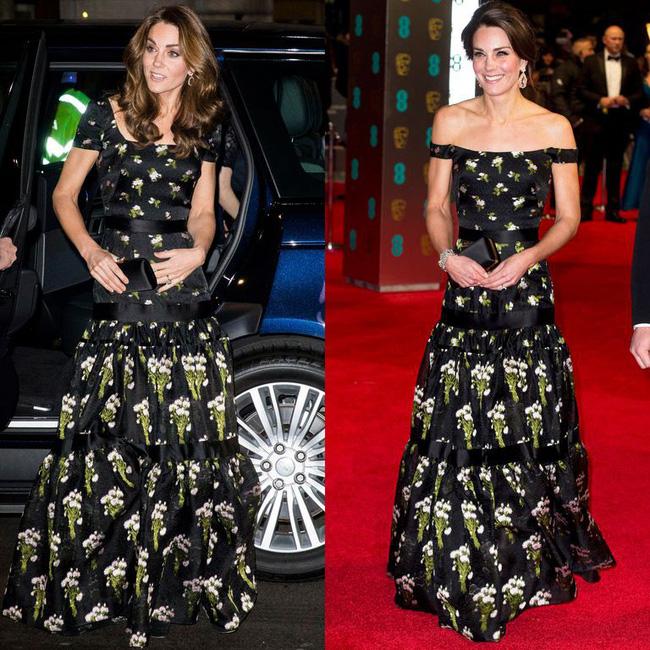 """Kate Middleton đã đạt đỉnh cao tiết kiệm trang phục giống Công nương Diana, khiến dân tình phục lăn"""" vì chế lại váy quá sức tài tình-4"""