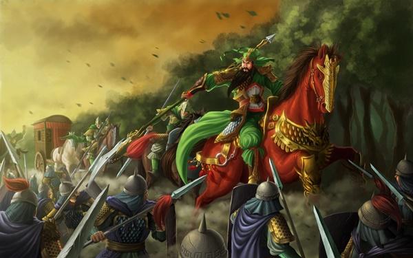 Thực hư Quan Vũ lấy đầu Nhan Lương, qua năm ải chém sáu tướng Tào-3