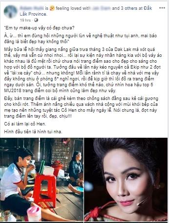 Một mình họa mặt vì không có ê-kip hỗ trợ, Hhen Niê vẫn khiến fan phát cuồng khi trình làng tuyệt tác cô Hen-1