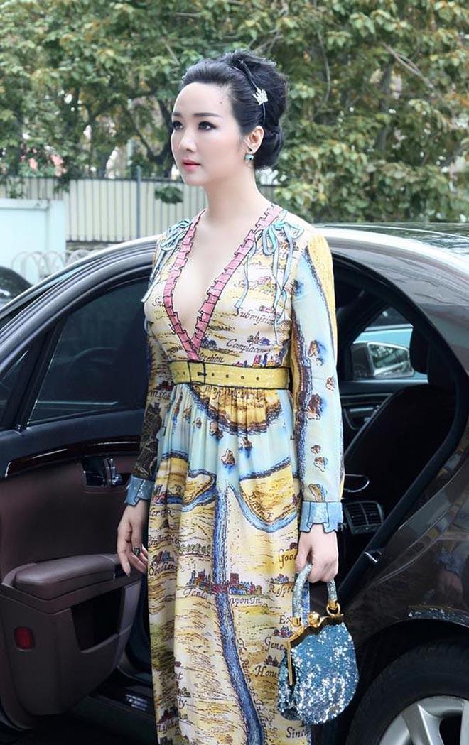 Từng là giai nhân của chủ tịch Tân Hoàng Minh, Hoa hậu không tuổi Giáng My giàu cỡ nào?-10