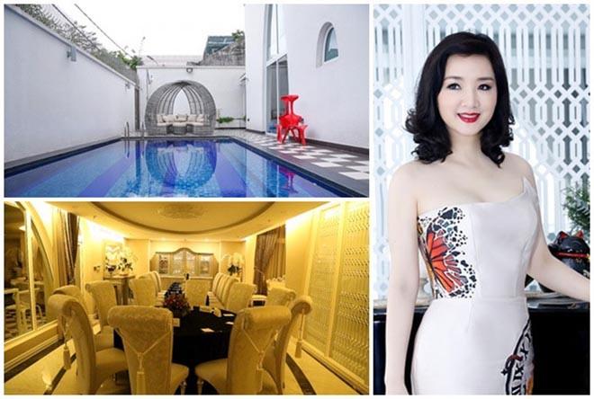 Từng là giai nhân của chủ tịch Tân Hoàng Minh, Hoa hậu không tuổi Giáng My giàu cỡ nào?-3