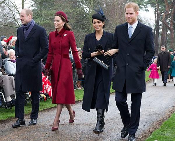 Hai cặp đôi Hoàng gia Anh chính thức tách biệt hoàn toàn, đường ai nấy đi, người dùng mạng phản ứng dữ dội vì điều này-1