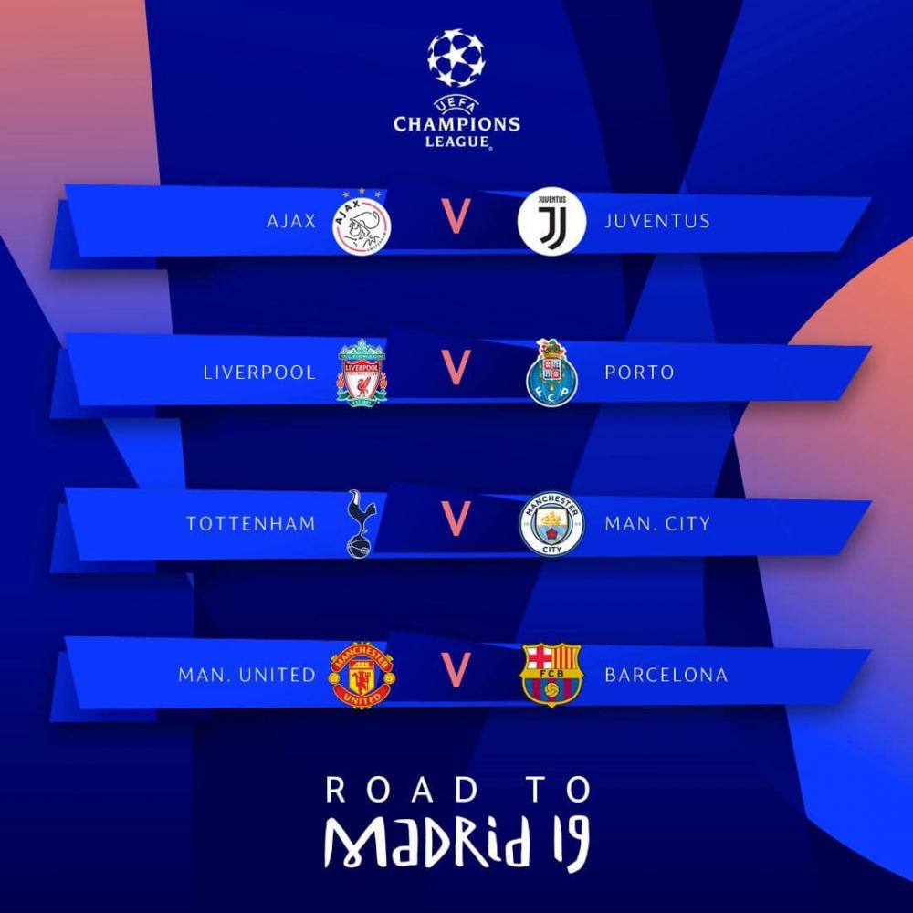 Tứ kết Champions League: Đại chiến Man Utd vs Barca, Juventus, Liverpool thở phào-1