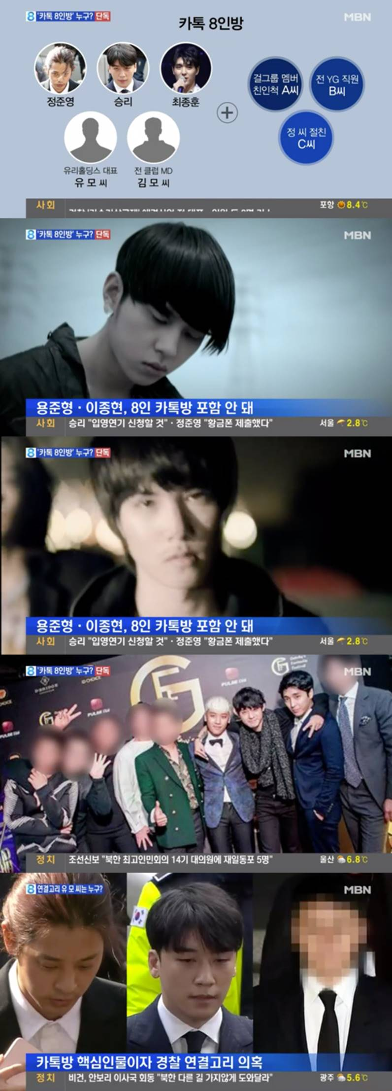 Chấn động: MBN tiết lộ luôn danh sách đầy đủ 8 nhân vật trong chatroom tình dục bệnh hoạn của Seungri-1