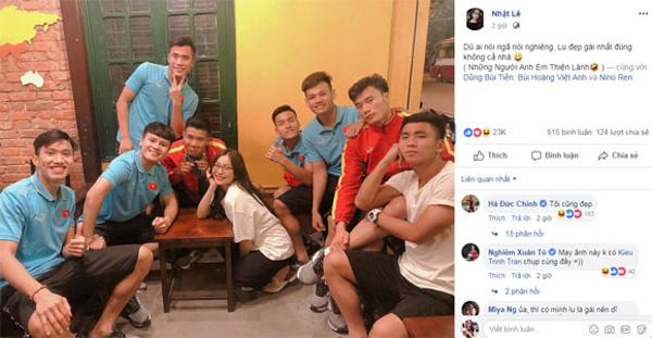 Thị phi thì mặc thị phi, bạn gái Quang Hải vẫn khiến nhiều người trầm trồ vì có ảnh độc chụp bên dàn trai đẹp-1