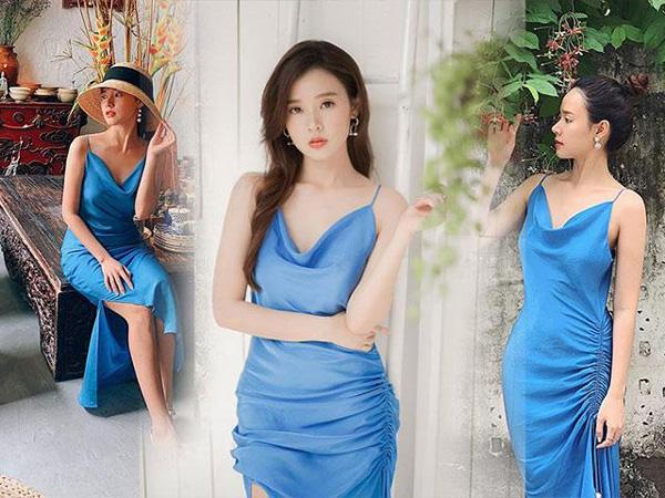 Hiếm có hot girl nào giản dị và tiết kiệm như Midu, một chiếc váy mặc đến hơn 3 lần-1
