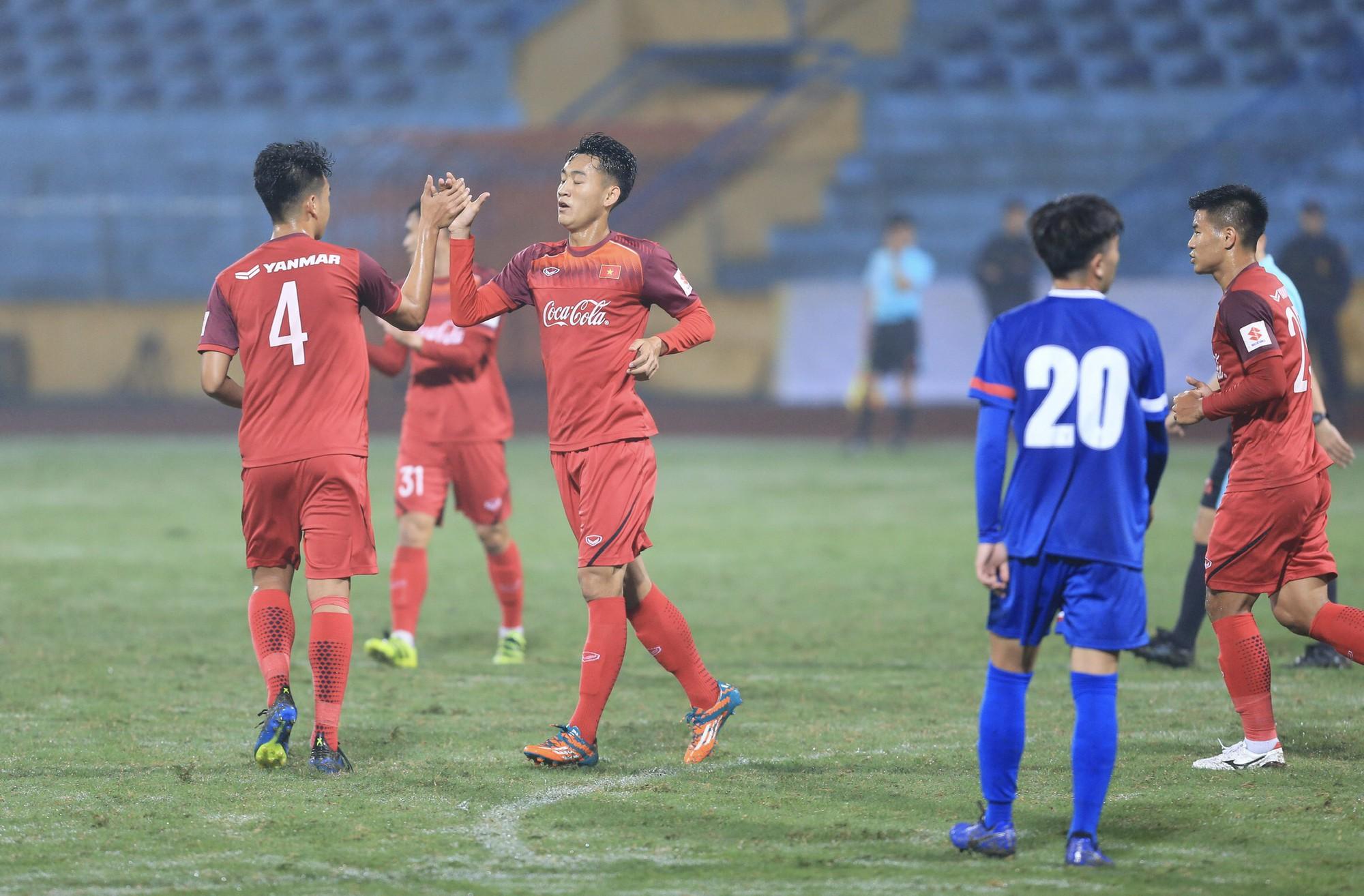 Đức Chinh nổ súng, U23 Việt Nam thắng tưng bừng trước thềm vòng loại U23 châu Á 2020-3