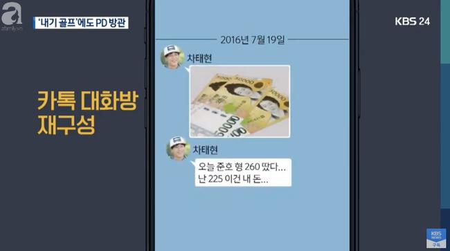 Nam chính Cô nàng ngổ ngáo Cha Tae Hyun bị tố đánh bạc phi pháp, xuất hiện trong group chat với Jung Joon Young-2
