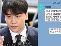 Lộ tin nhắn bóc mẽ thói quen thao túng luật pháp và xem thường cơ quan chức năng của Seungri: