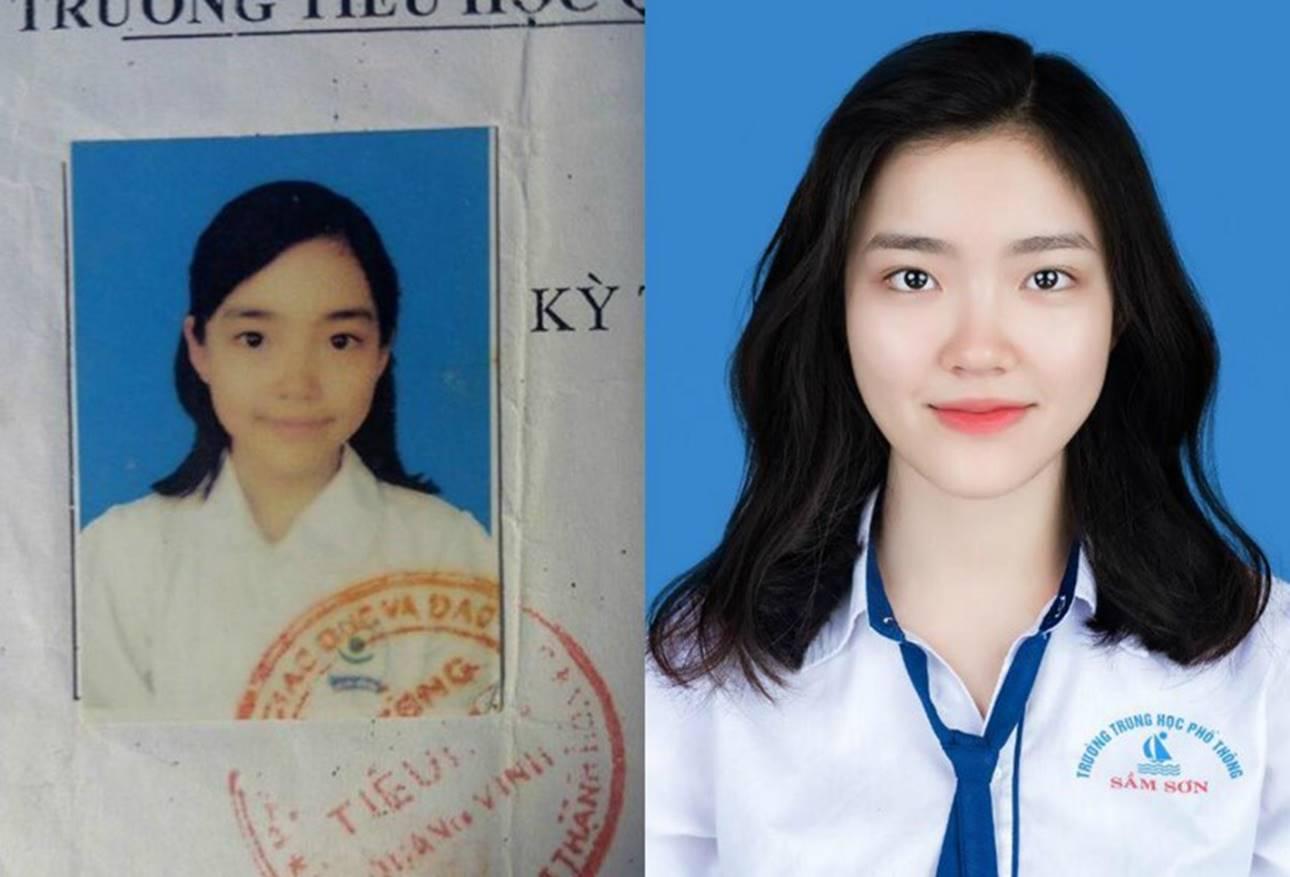 Nữ sinh Thanh Hoá nổi như cồn với bức ảnh thẻ xinh như hotgirl, đã vậy còn học giỏi, hát hay và là cao thủ võ thuật-1