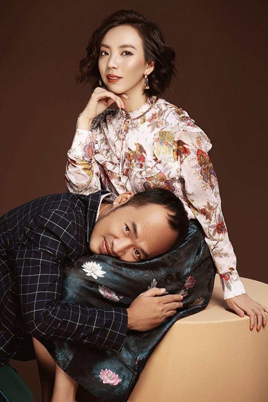Thu Trang ngày càng sang chảnh, đẹp mặn mà bên ông xã Tiến Luật-3