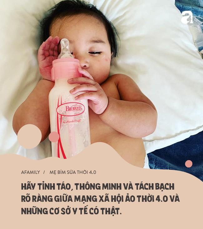 Mặt trái mẹ bỉm sữa thời 4.0: Xem mạng xã hội là bệnh viên nhi khoa, còn hội chị em là chuyên gia y tế-6