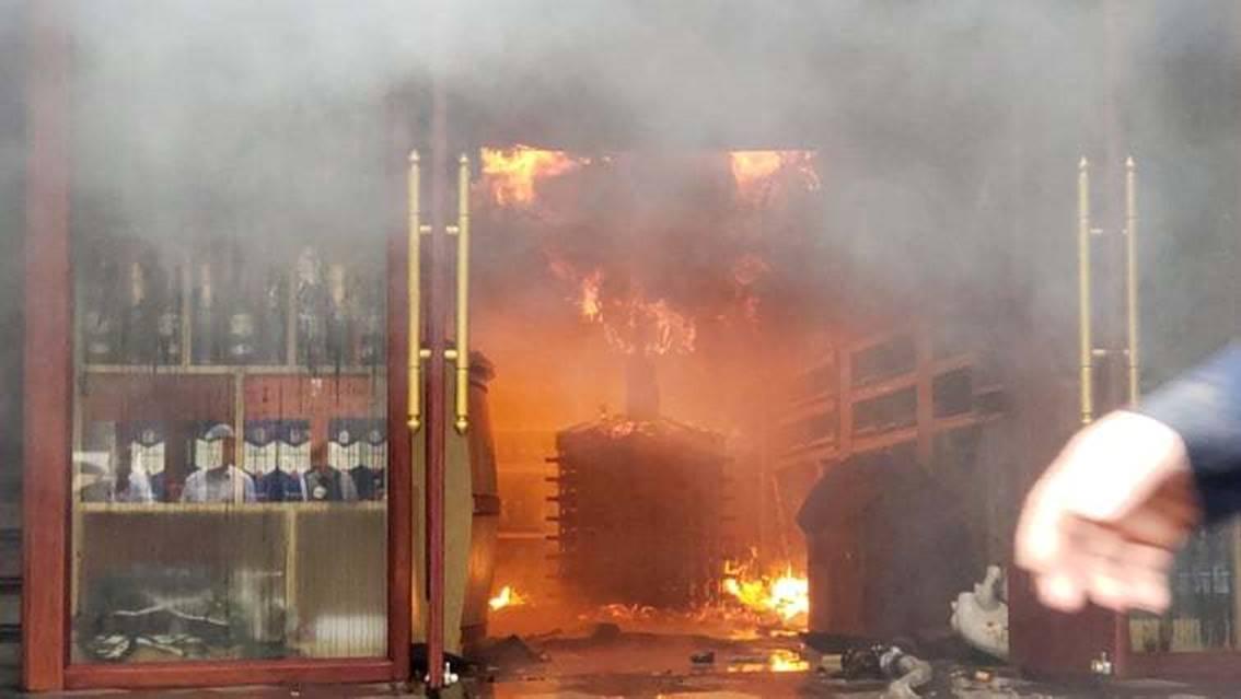 Cháy khách sạn ở Hải Phòng: Nữ nhân viên tử vong là người báo tin-1