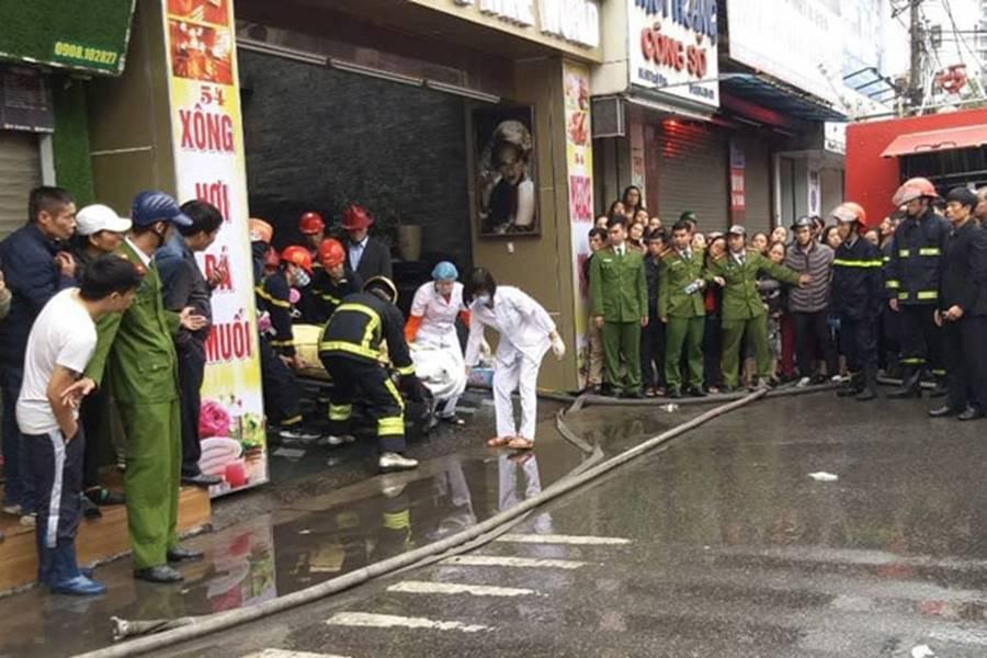 Cháy khách sạn ở Hải Phòng: Nữ nhân viên tử vong là người báo tin-2
