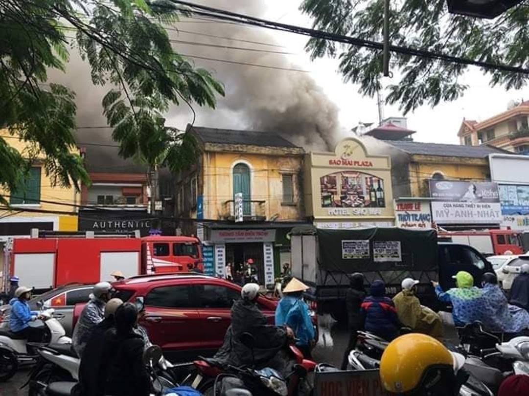 Cháy khách sạn ở Hải Phòng: Nữ nhân viên tử vong là người báo tin-4