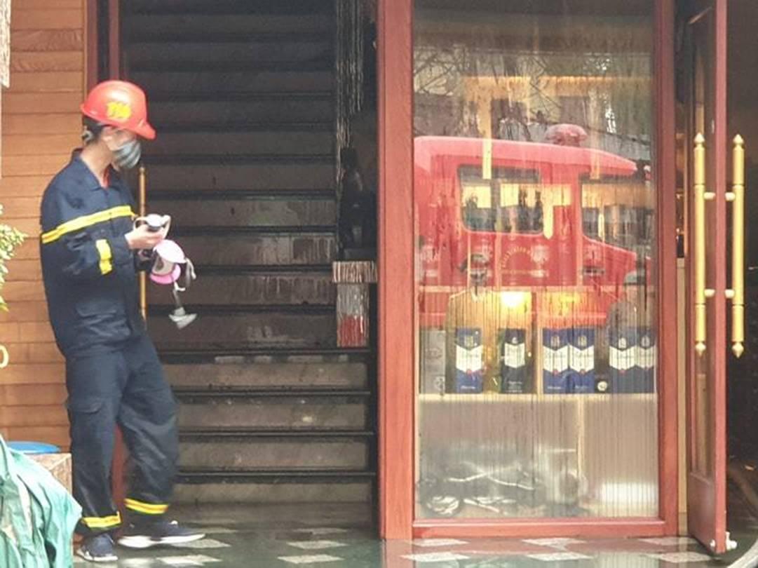 Cháy khách sạn ở Hải Phòng: Nữ nhân viên tử vong là người báo tin-6