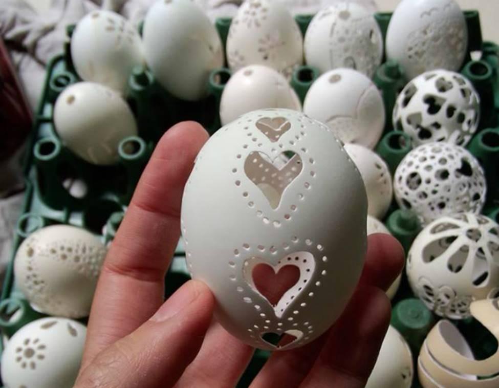 Phù phép vỏ trứng vứt đi thành sản phẩm có giá hàng triệu đồng-14