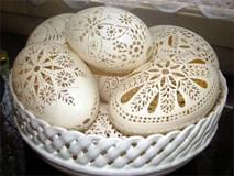 Phù phép vỏ trứng vứt đi thành sản phẩm có giá hàng triệu đồng