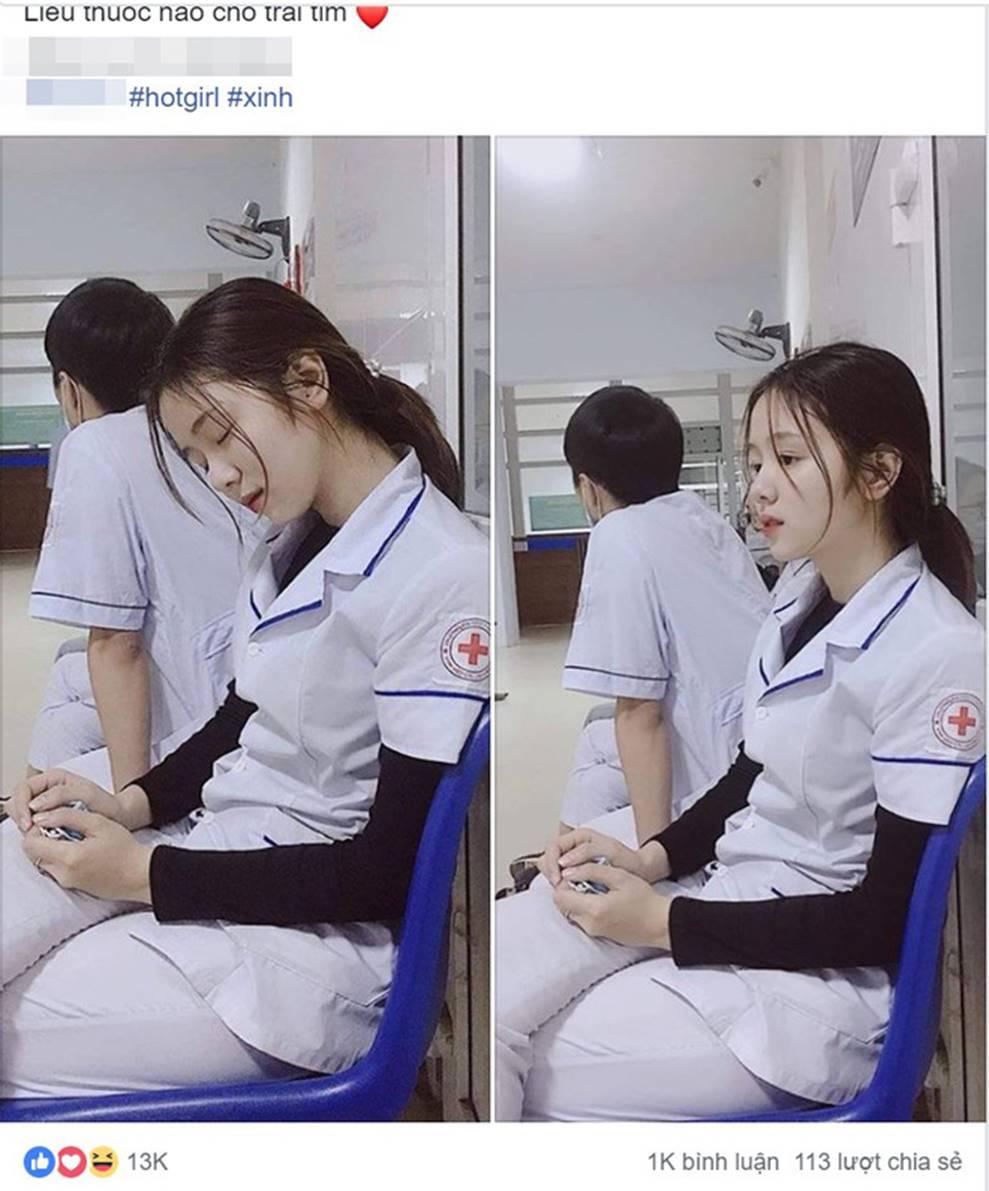 Nữ điều dưỡng gây sốt MXH vì tấm ảnh ngủ gật, nhưng thông tin về cô khiến nhiều người hụt hẫng-1