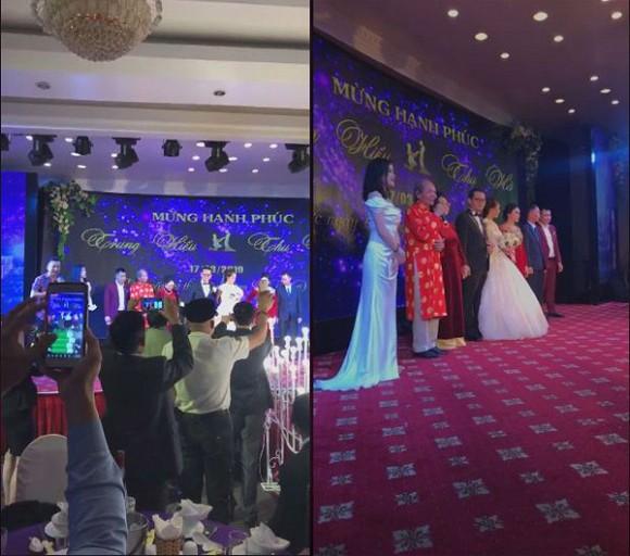 NSND Trung Hiếu tổ chức đám cưới với vợ trẻ kém 19 tuổi ở Thái Bình, bất ngờ nói điều này khiến cả hội trường thích thú-5