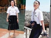 3 thế hệ mặc chung một mẫu áo: Phượng Chanel bị 'dìm hàng' tơi tả khi đụng hàng Lan Khuê, Jennie