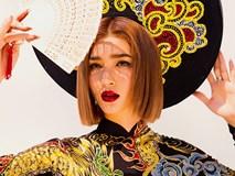 Ngắm Kim Tuyến uy quyền trong trang phục áo dài cách tân