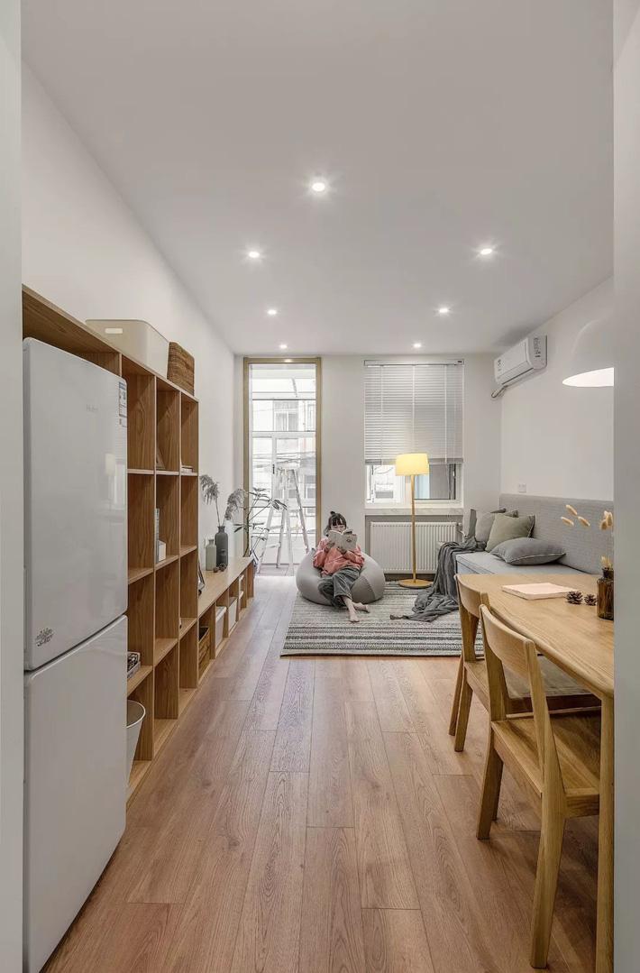 Căn hộ 60m² ở khu tập thể cũ tưởng như chẳng ai muốn ở biến hình thành không gian vạn người mơ ước sau cải tạo-4