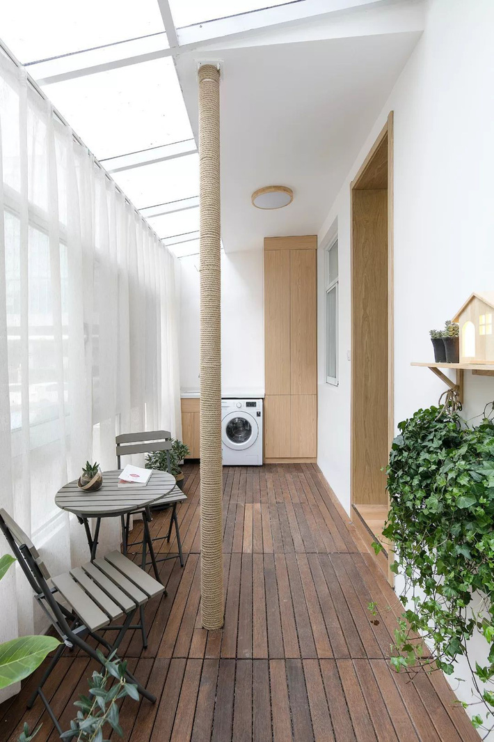 Căn hộ 60m² ở khu tập thể cũ tưởng như chẳng ai muốn ở biến hình thành không gian vạn người mơ ước sau cải tạo-23