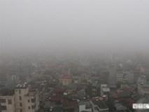 Ảnh: Hà Nội huyền ảo trong mây mù dày đặc như Sapa