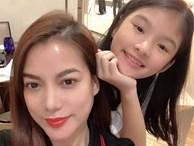 5 năm sau ngày bố mẹ ly hôn, con gái của Trương Ngọc Ánh vụt phổng phao đến bất ngờ