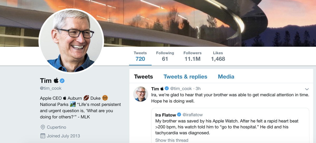 Khổ thân CEO Apple: Đăng ảnh khoe iPad mini mới, chẳng hiểu sao lại thành tâm điểm bị chế ảnh-1