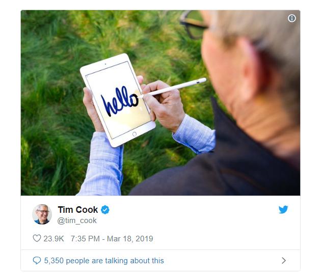 Khổ thân CEO Apple: Đăng ảnh khoe iPad mini mới, chẳng hiểu sao lại thành tâm điểm bị chế ảnh-2