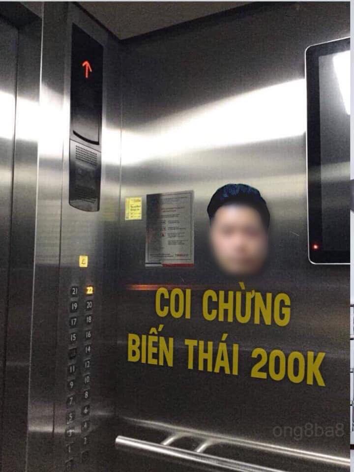 Cửa hàng từ chối phục vụ, cư dân kêu gọi dán hình kẻ dê xồm sàm sỡ nữ sinh trong thang máy để cảnh báo-1
