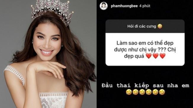 Hoa hậu Phạm Hương và cách ứng xử báo động!-4