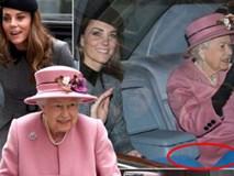 Công nương Kate một mình tháp tùng Nữ hoàng Anh đi dự sự kiện,
