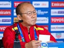 HLV Park Hang Seo: 'U23 Việt Nam hiện nay không bằng lứa Thường Châu'