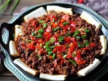 25 nghìn có ngay món 'tình nhân' đậu phụ - thịt băm, ăn kèm cơm bao nhiêu cũng hết