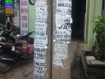 Ông tây bóc biển quảng cáo rao vặt trên phố