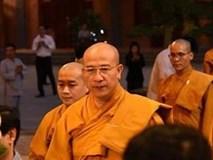 Trụ trì chùa Ba Vàng từ chối trả lời sau buổi thuyết pháp