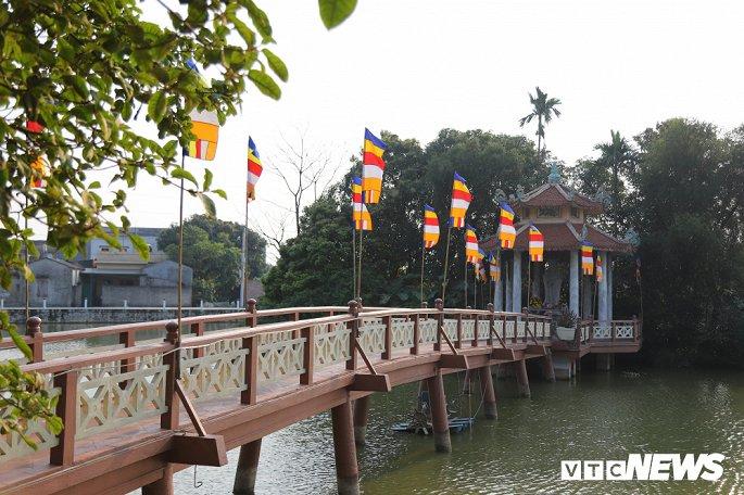 Ảnh: Ngôi chùa nghìn tuổi không có hòm công đức, cấm đặt tiền lễ ở Bắc Ninh-7