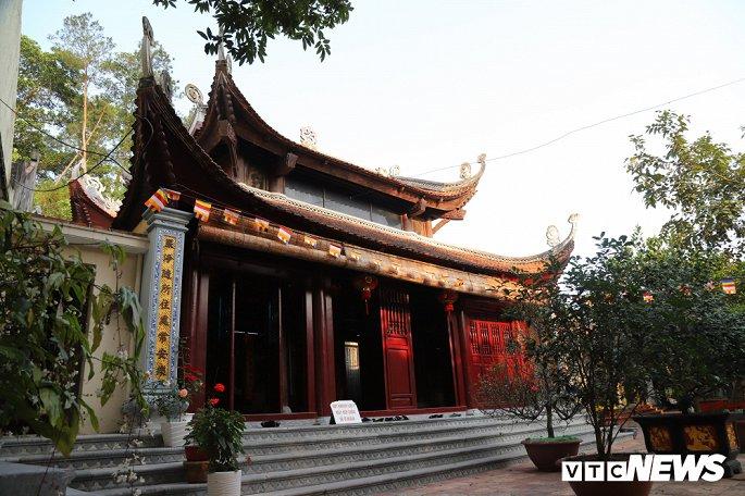 Ảnh: Ngôi chùa nghìn tuổi không có hòm công đức, cấm đặt tiền lễ ở Bắc Ninh-4