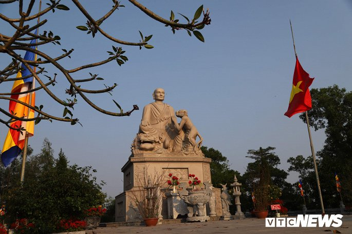 Ảnh: Ngôi chùa nghìn tuổi không có hòm công đức, cấm đặt tiền lễ ở Bắc Ninh-5