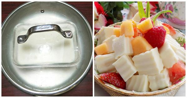 Sữa chua dẻo thơm mềm ĂN QUÁ ĐÃ lại đơn giản dễ làm, chỉ cần 5 BƯỚC là mẹ đảm đã thành công-2