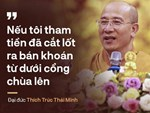 Phó Ban PG Quảng Ninh: Trụ trì chùa Ba Vàng quỳ sám hối trước Thượng tọa Thích Thanh Quyết nhiều lần xong đâu lại vào đấy!-2